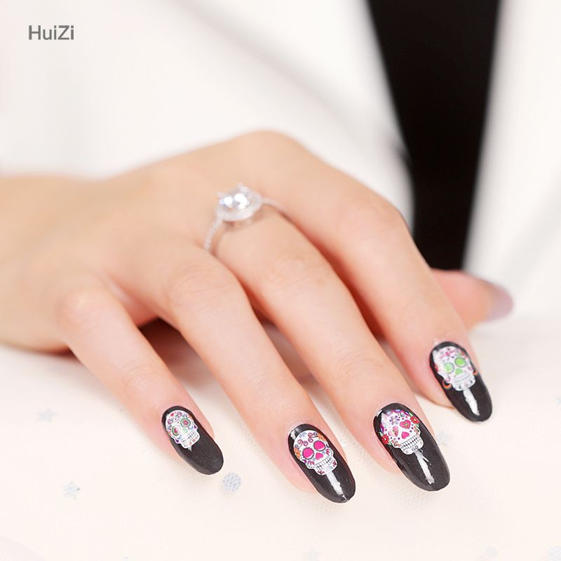Hottest cover 2d nail wraps custom nail decals wraps Christmas