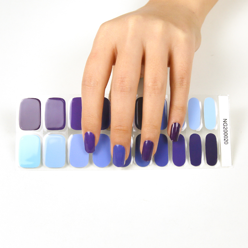 OEM/ODM Semicured Gel Polish Nail Sticker
