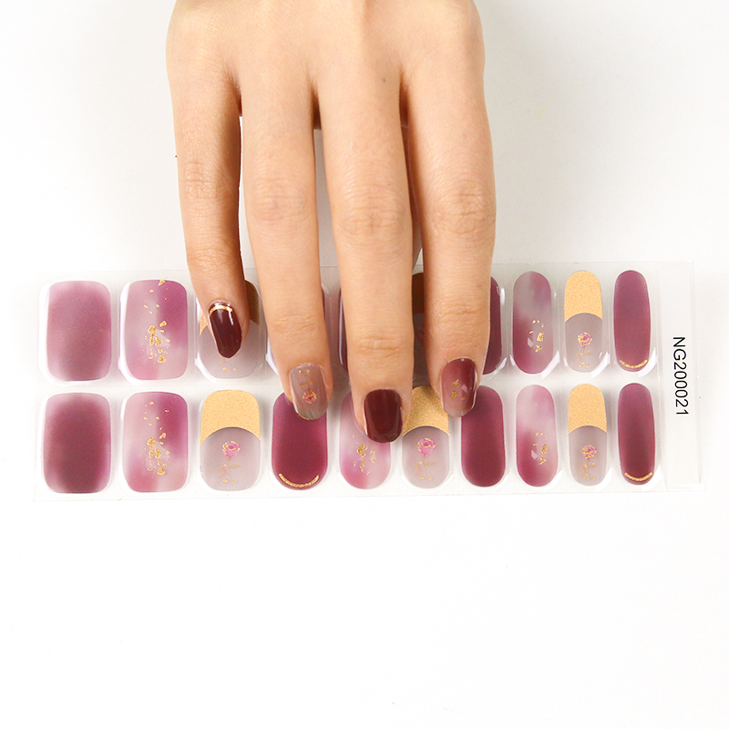 Semicured gel nail with UV hot sale in Japan Korea